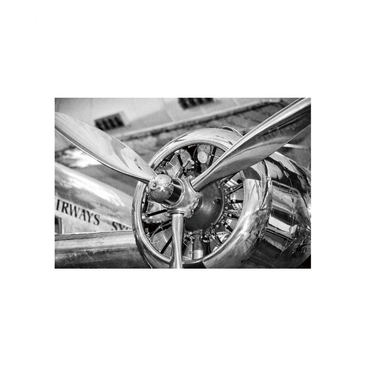 Ac-Deco Tableau en verre - Engine - L 120 cm x H 80 cm
