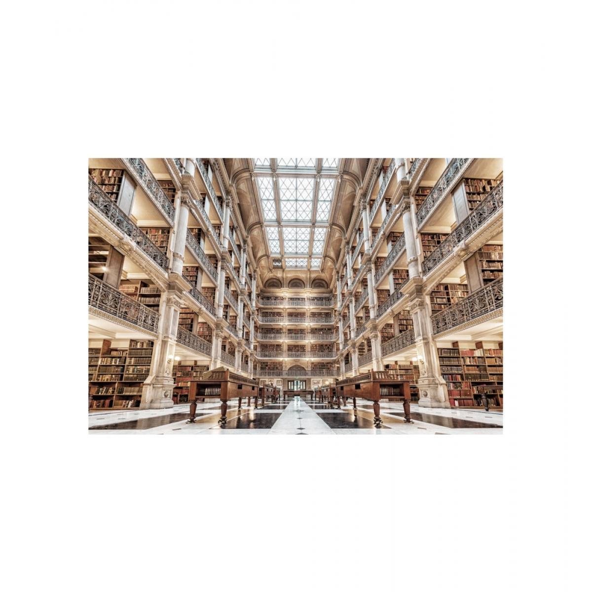 Ac-Deco Tableau en verre - Library - L 120 cm x H 80 cm