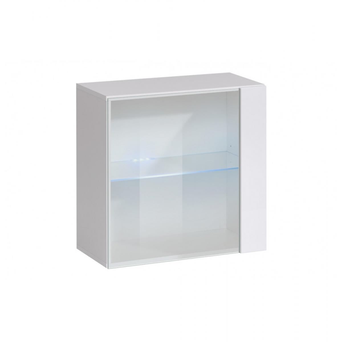 Ac-Deco Vitrine - Switch WW 2 - 30 cm x 120 cm x 30 cm - Blanc