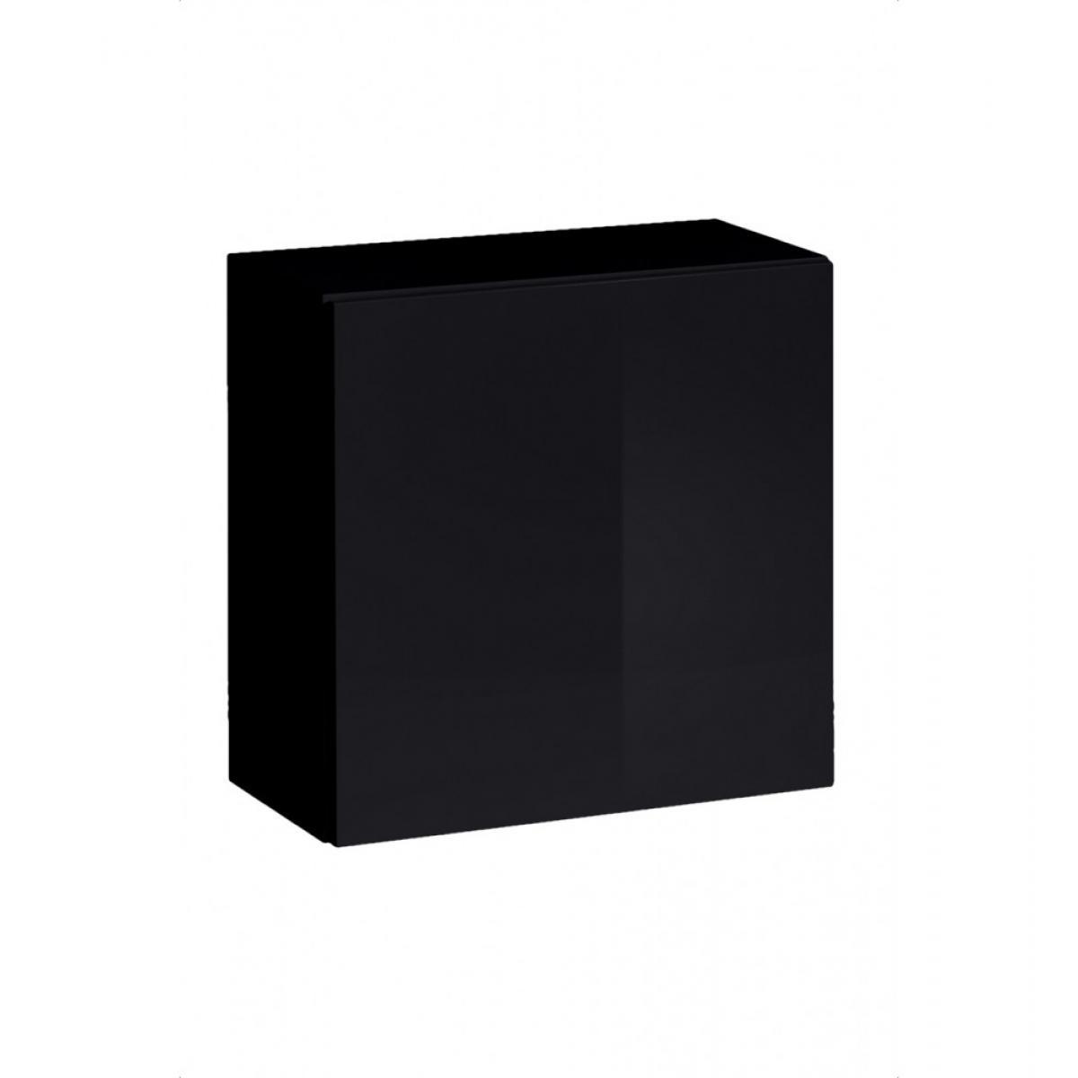 Ac-Deco Vitrine - Switch WW 2 - 30 cm x 120 cm x 30 cm - Noir
