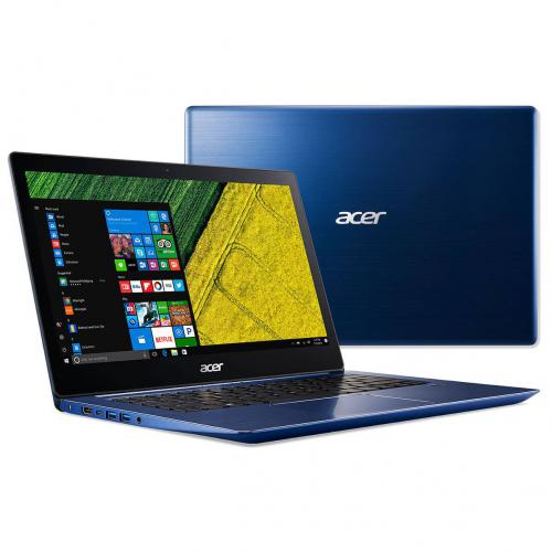 Acer - Portable ACER Swift 1 SF114-33-P00Y BLEU Intel Pentium Silver N5030 4Go DDR4 128Go PCIe NVMe Intel® HD Graphics 14'' FHD IPS  win10S mode S DAS0.8 - PC Portable Acer