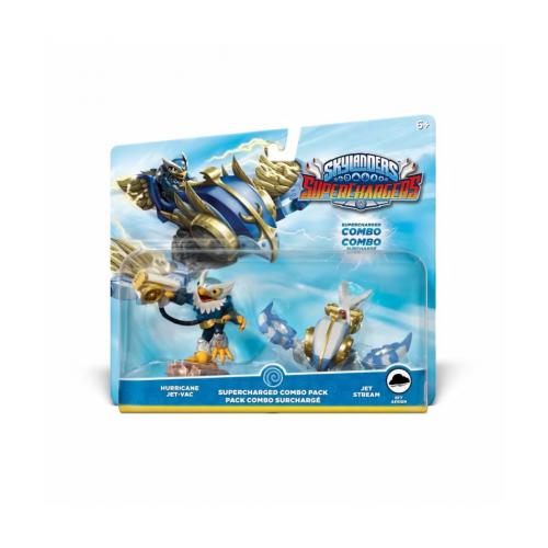 Activision - Figurines Hurricane Jet Vac + Jet Stream Skylanders Superchargers - Activision