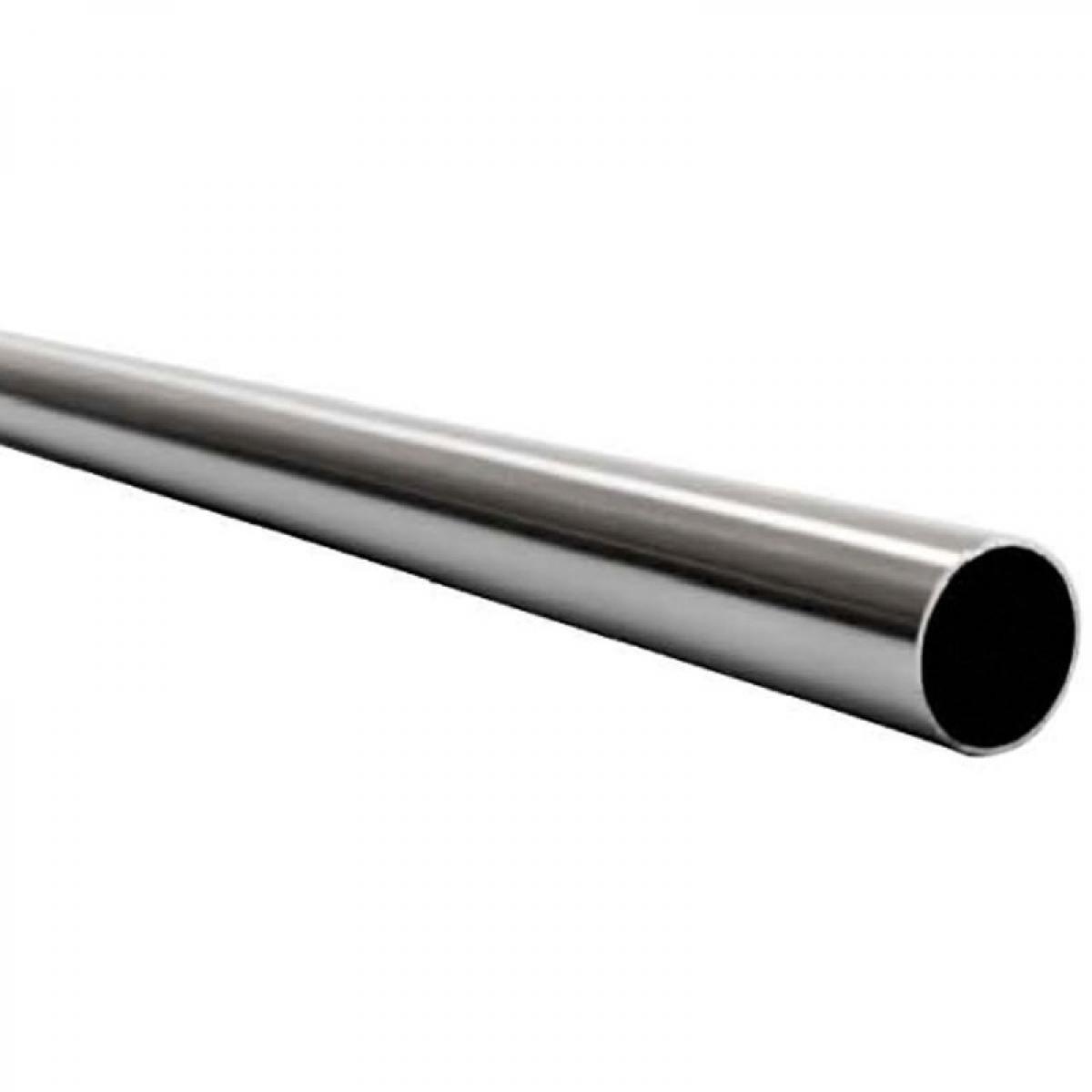 Adler Tube inox ?19 - Décor : Poli - Matériau : Inox - Longueur : 1600 mm - Diamètre : 19 mm - ADLER
