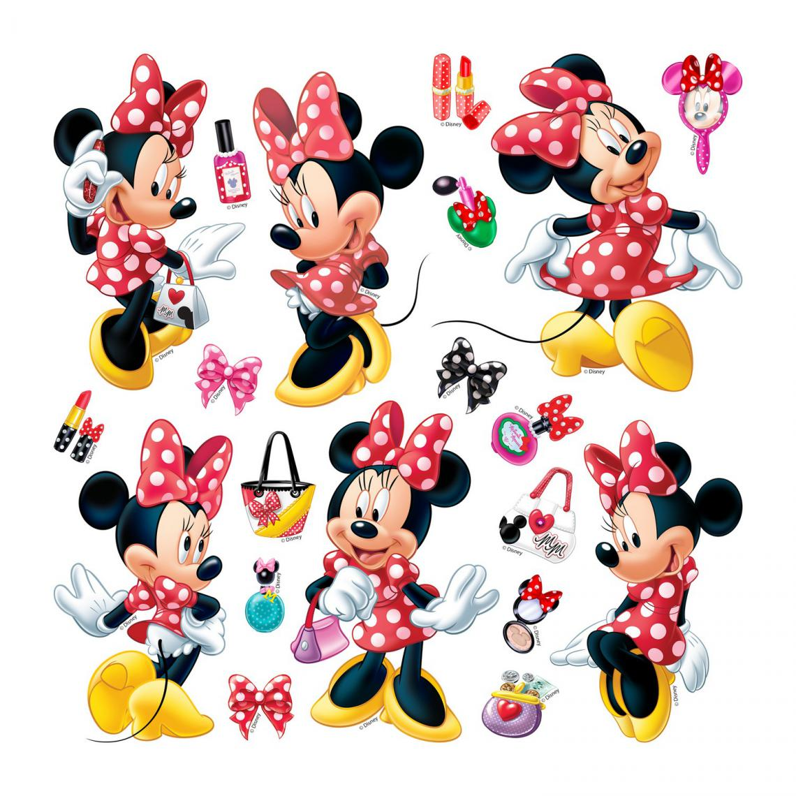 Ag Art Minis Stickers Disney - Minnie Mouse - 30 CM x 30 CM