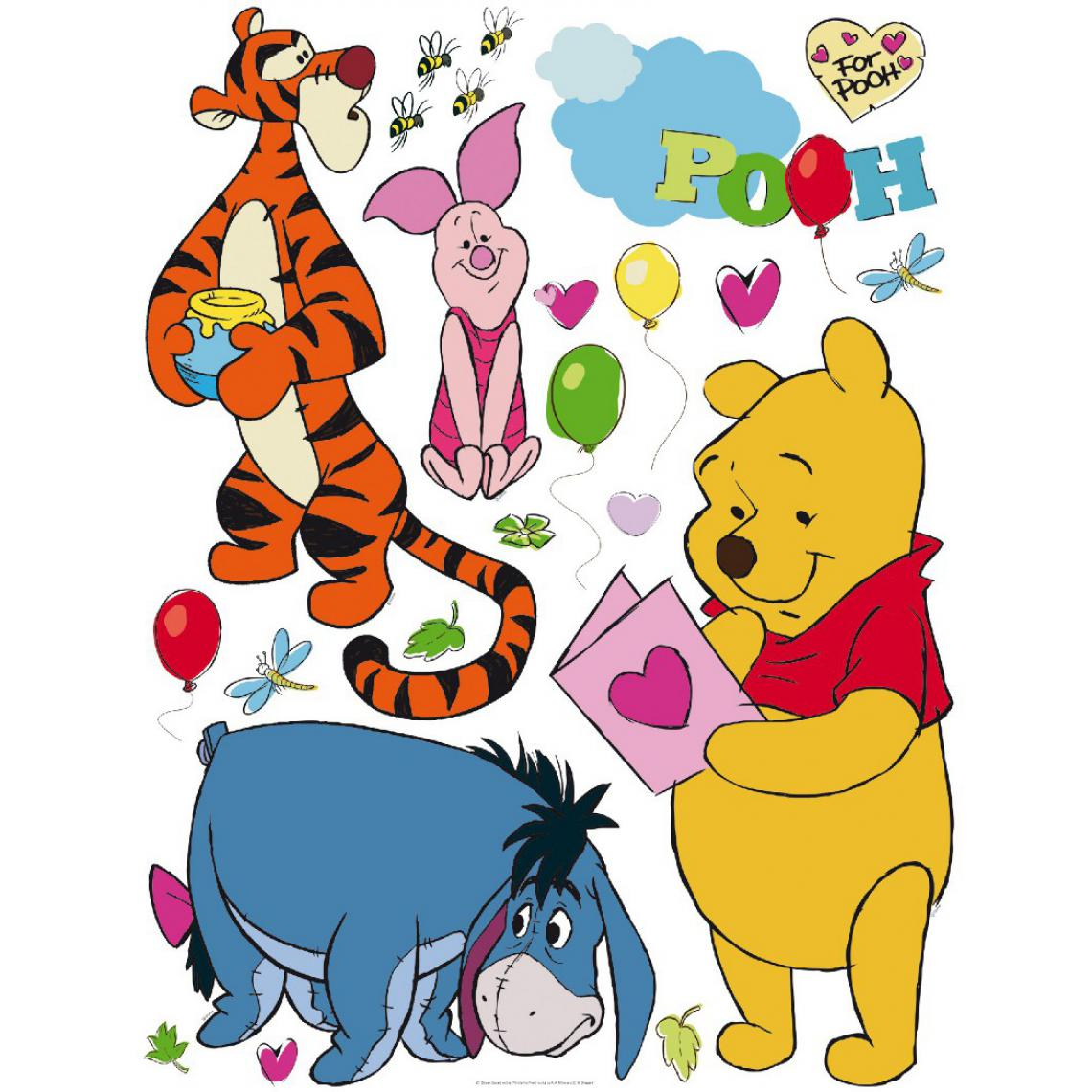 Ag Art Stickers muraux Winnie et ses amis Disney