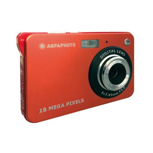 Agfa Photo - AGFA PHOTO Realishot DC5100 - Appareil Photo Numérique Compact (18 MP, 2.7'' LCD, Zoom Digital 8x, Batterie Lithium)-Rouge- - Appareil compact