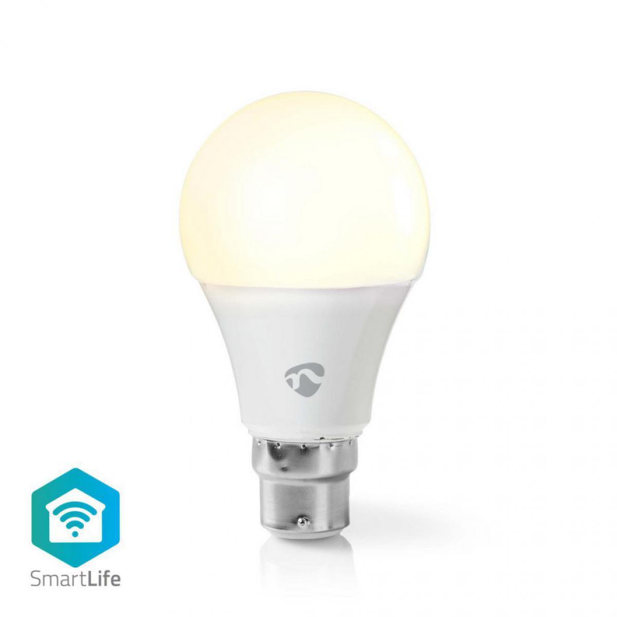 Alpexe Ampoule LED Intelligente Wi-Fi   Blanc Chaud   B22