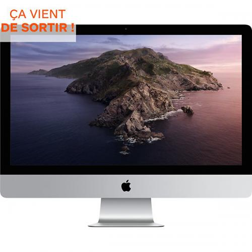 Apple - APPLE 27-inch iMac with Retina 5K display: 3.3GHz 6-core 10th-generation Intel Core i5 processor, 512GB - PC Fixe