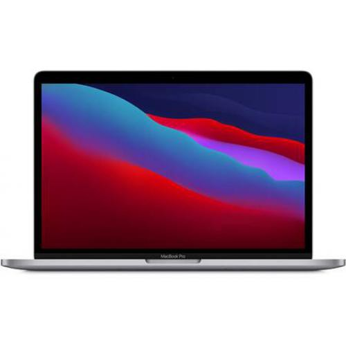 Apple - MacBook Pro 13'' Touch Bar 2 To SSD 16 Go RAM Puce M1 Gris sidéral Nouveau - PC Portable