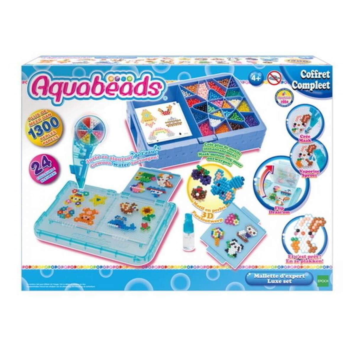 Aquabeads Perles Aquabeads : La mallett