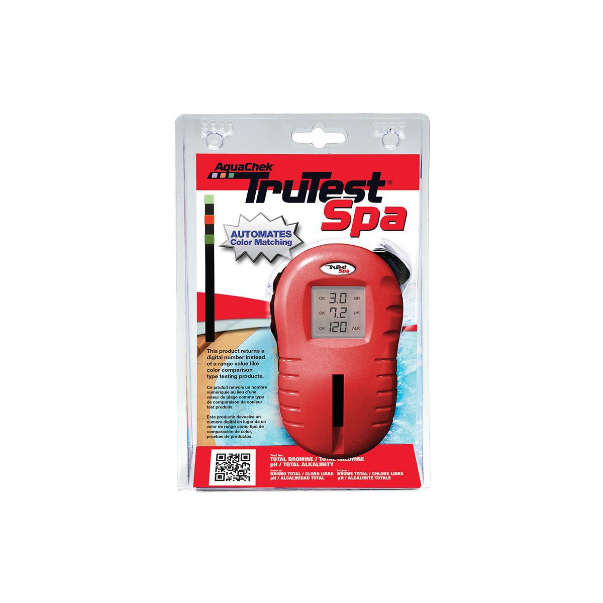 Aquachek Testeur électronique eau spa TruTest 4 paramètres - Aquachek