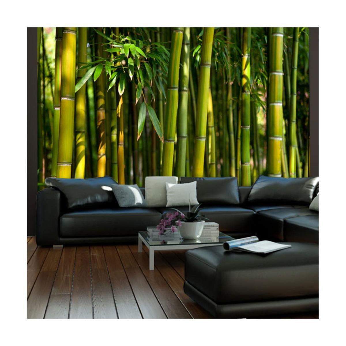 Artgeist Papier peint - Forêt de bambous asiatique 200x154