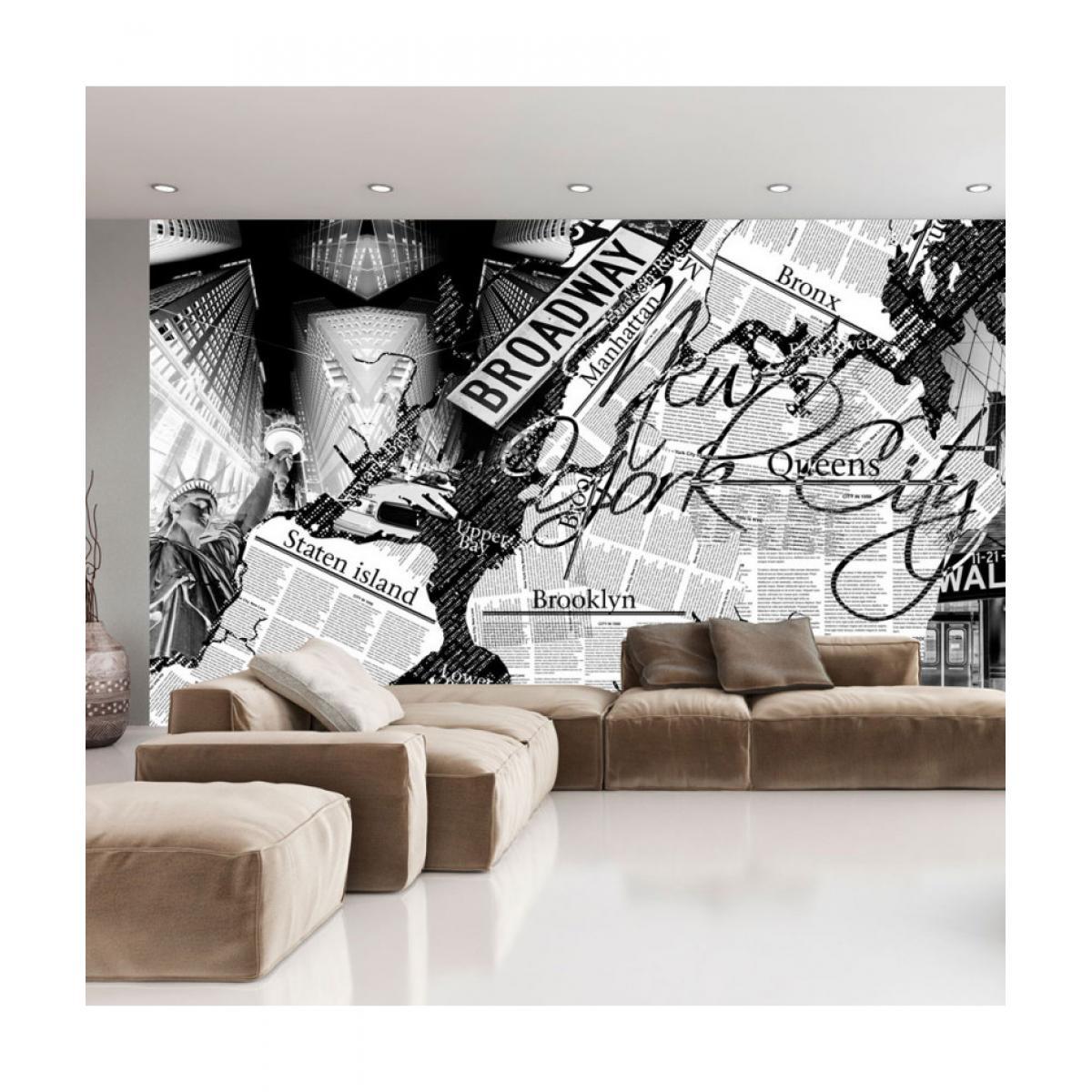 Artgeist Papier peint - New York news 450x280