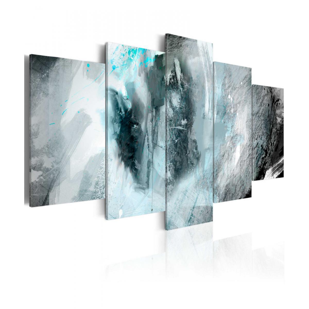 Artgeist Tableau - Lune bleue 100x50