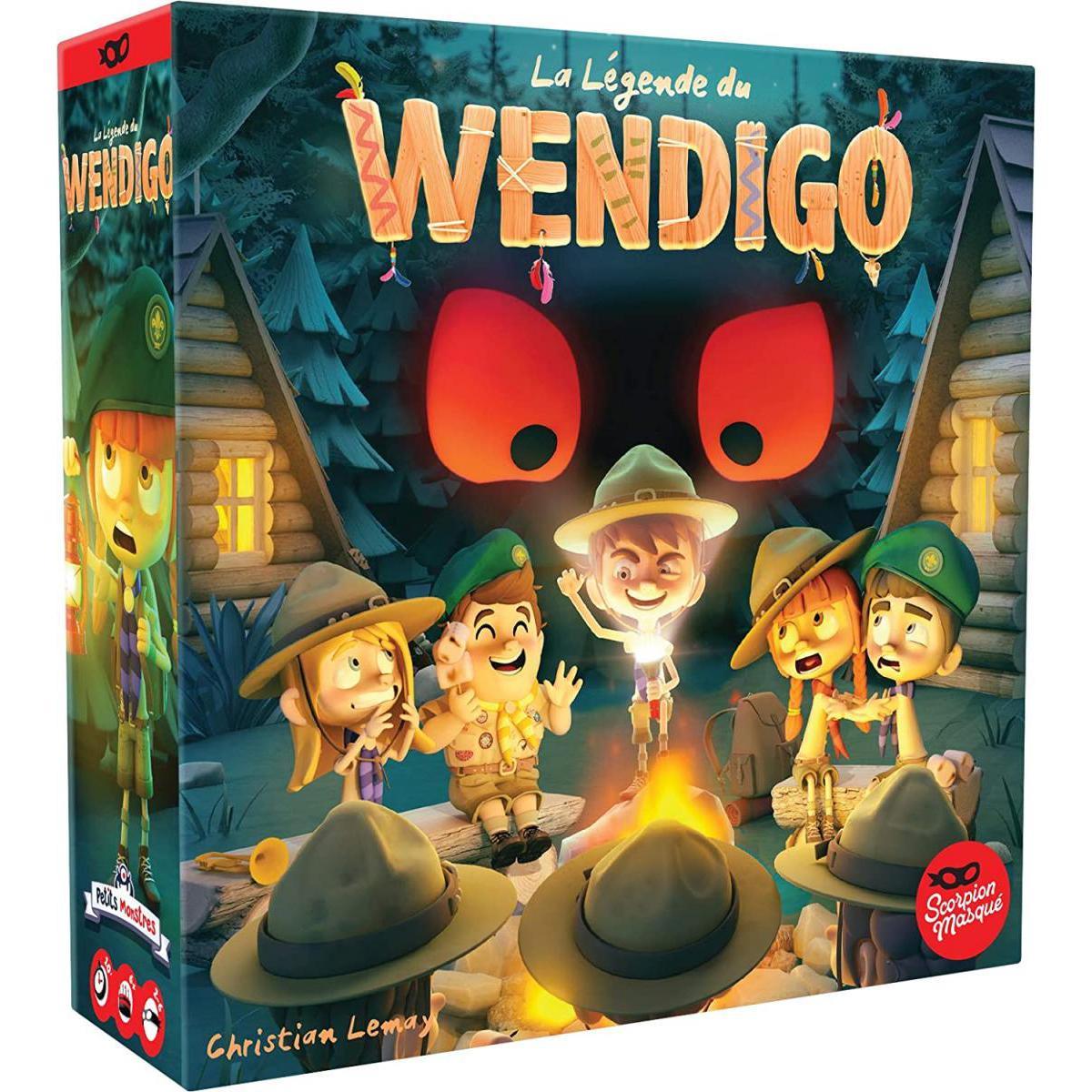 Asmodee La legende de Wendigo