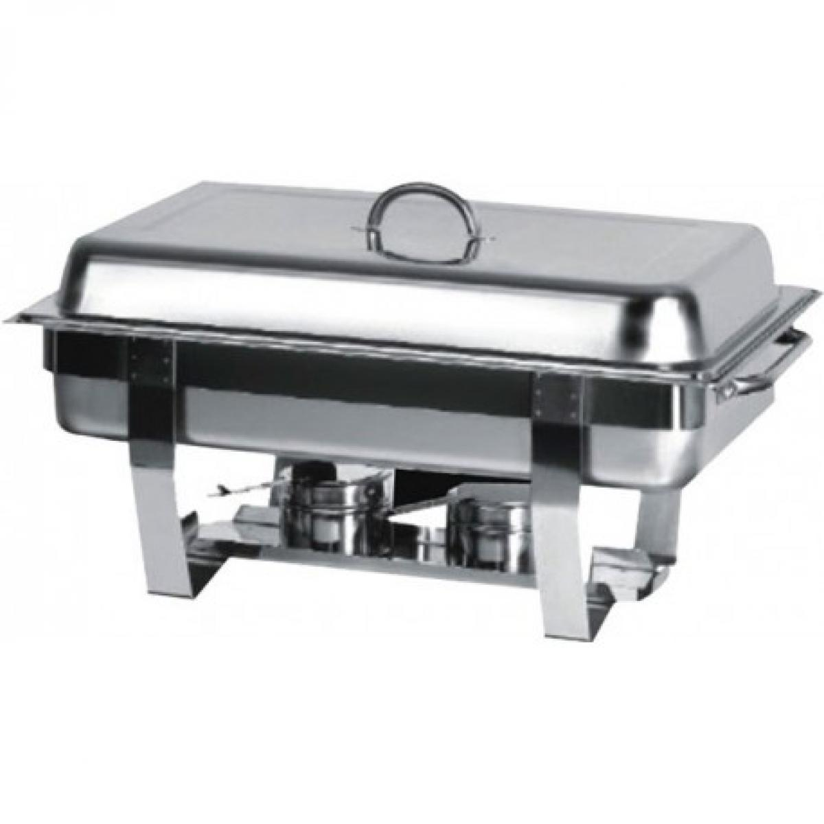 Atosa Chafing Dish avec Couvercle et Pieds en Inox GN 1/1 - Atosa -