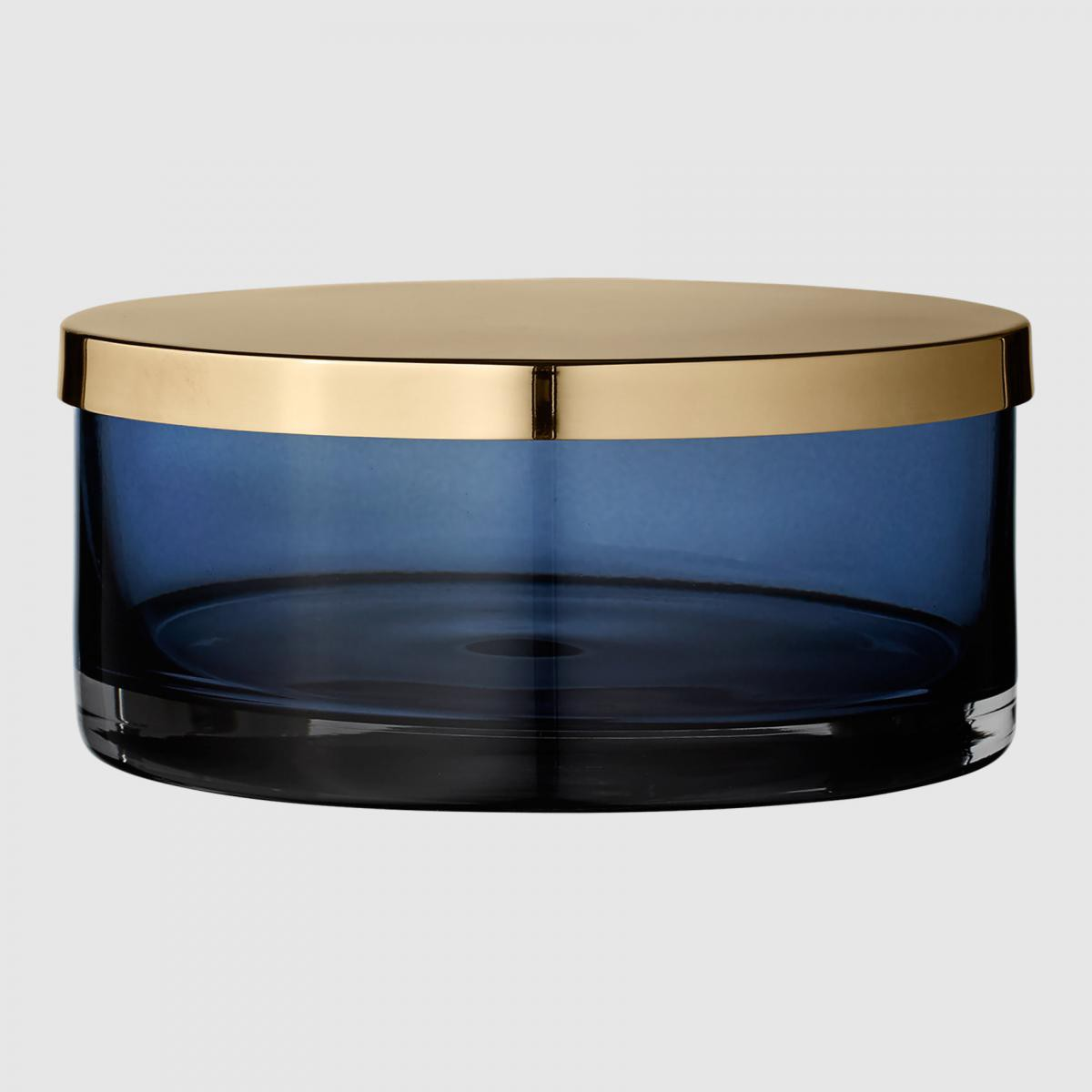 Aytm Boîte Tota cylindrique - bleu foncé - L