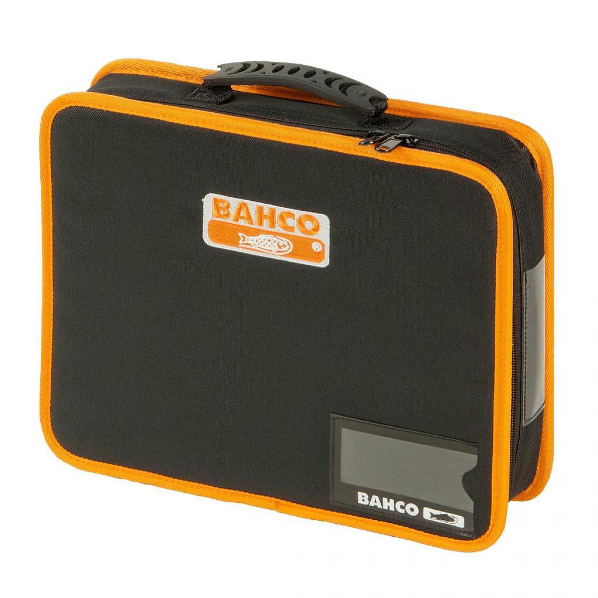 Bahco Bahco - Pochette porte-outils en tissu moyenne 6 L, avec poignée caoutchouc, 62 x 275 x 330 mm - 4750FB5B