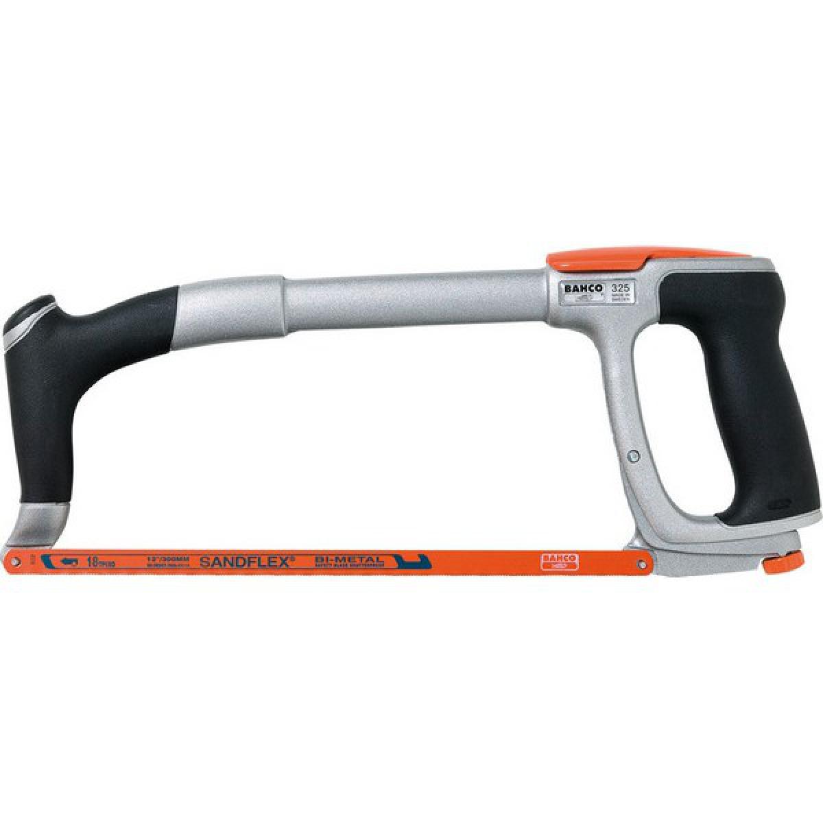 Bahco Monture de scie à métaux ERGO®, Long. de la lame : 300 mm