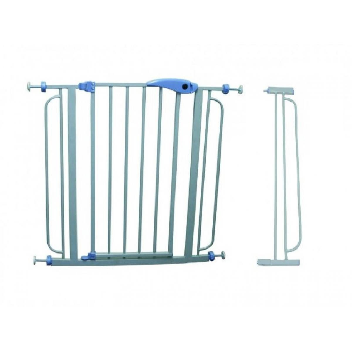 Bcelec 5664-1093 Barrière de sécurité extensible de 76 à 107 cm, avec rallonge fournie