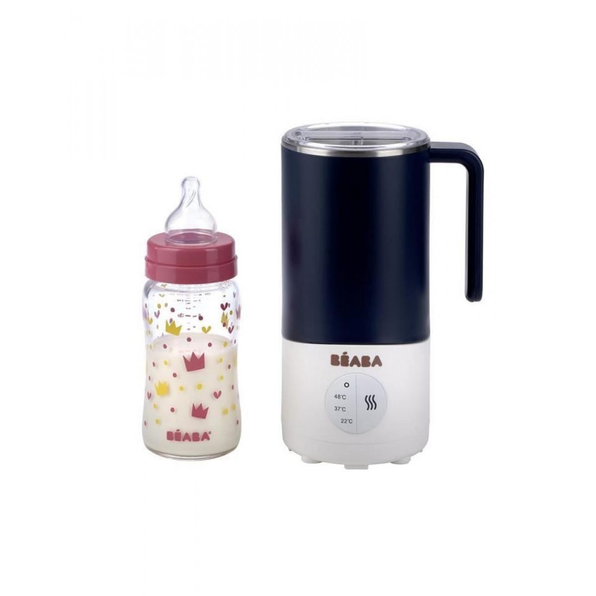 Beaba BEABA Milk Prep : Préparateur boisson - bleu nuit