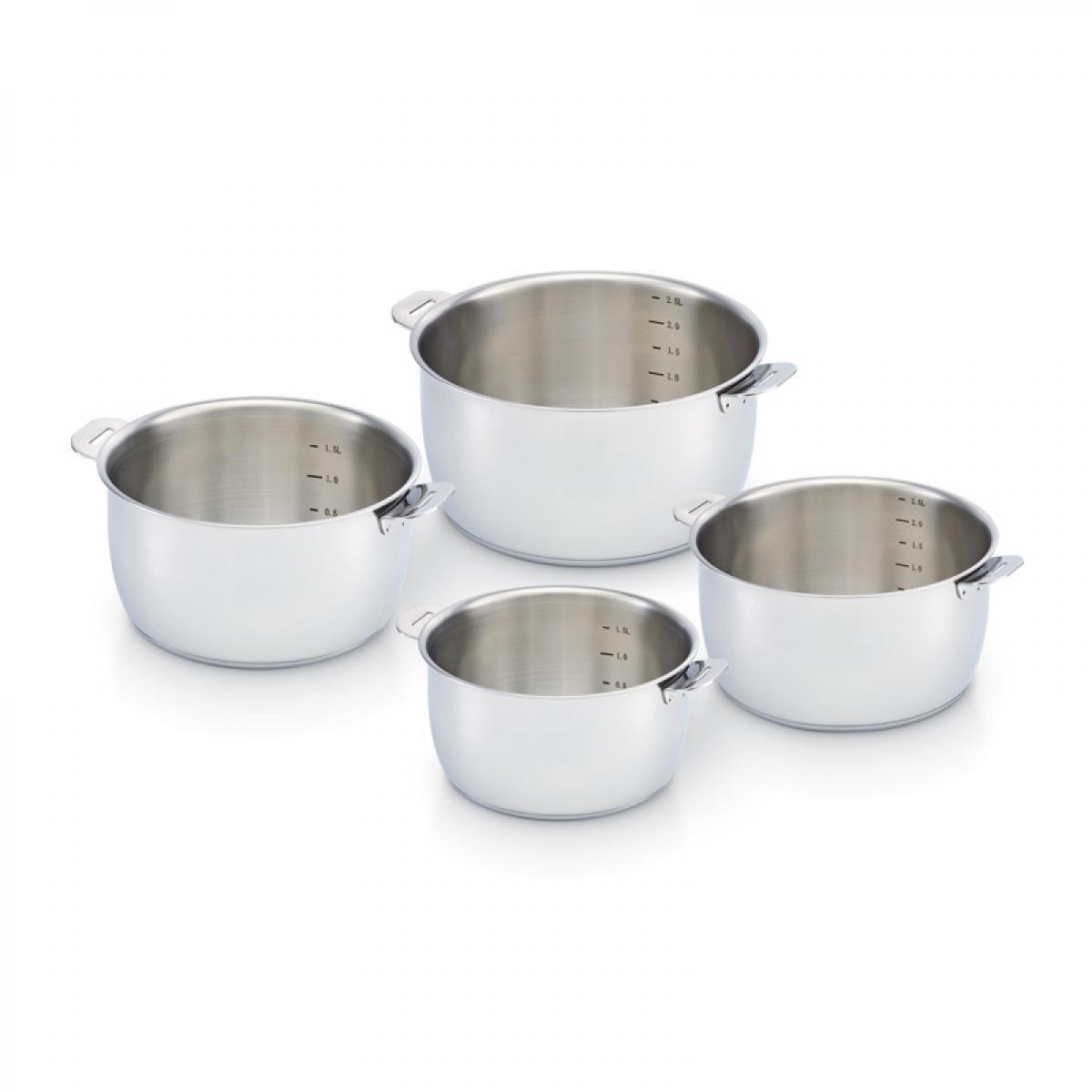 Beka Beka - Série de 4 casseroles Sélect - 14 à 20 cm