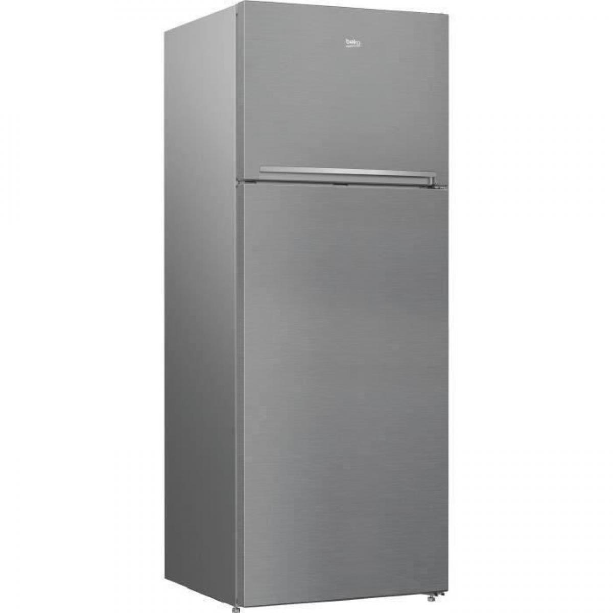 Beko BEKO RDNE455K30ZXBN Réfrigérateur congélateur haut - 406 L (313+93) - Froid ventilé - NeoFrost - A++ - Métal brossé