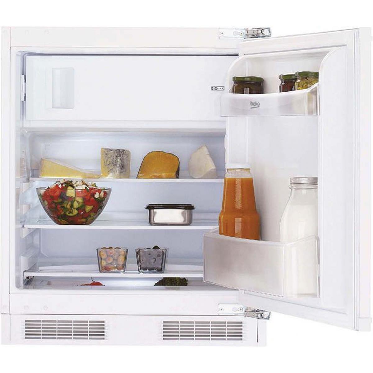 Beko Réfrigérateur 1 porte 92L Froid Statique BEKO 59.5cm A+, BU 1153 HCN