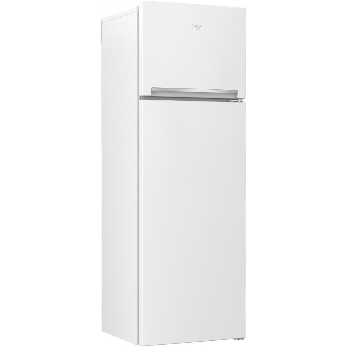 Beko Réfrigérateur 2 portes 306L Froid Brassé BEKO 59.5cm A+, RDSA 310 K 30 WN