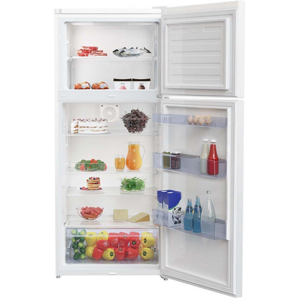 Beko Réfrigérateur 2 portes 410L BEKO 70cm A+, RDSE450K30WN