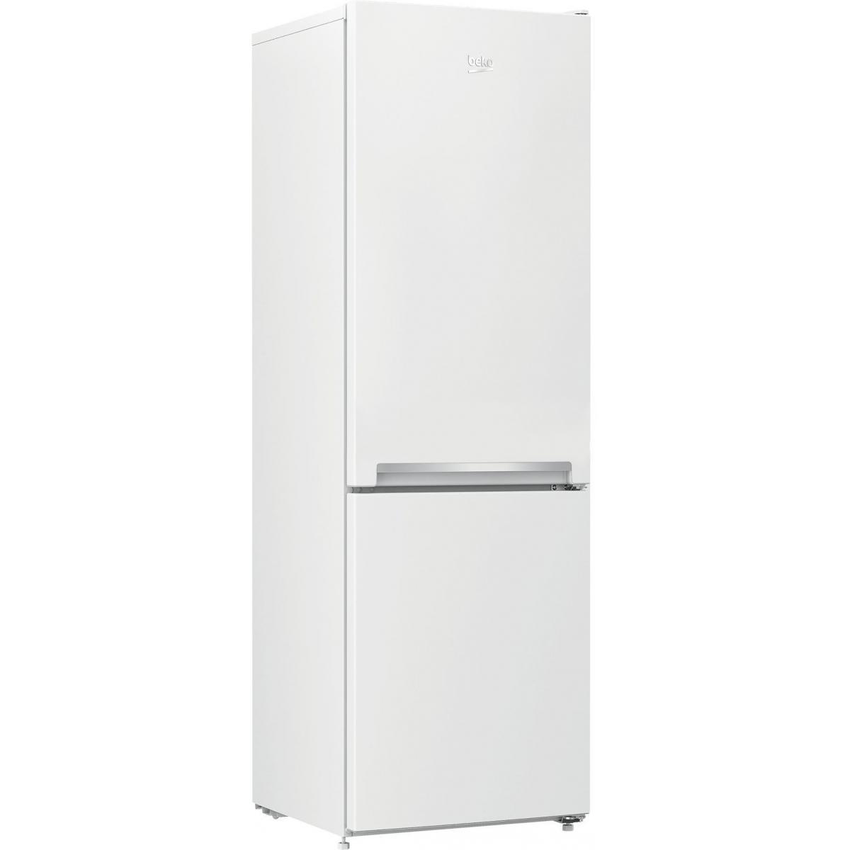 Beko Réfrigérateur combiné 262L Froid Statique BEKO 54cm A+, RCSA 270 K 30 WN