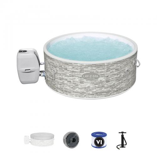 Bestway - Spa Gonflable Bestway Lay-Z-Spa Vancouver Pour 3-5 personnes Rond 155x60 cm - Spa gonflable