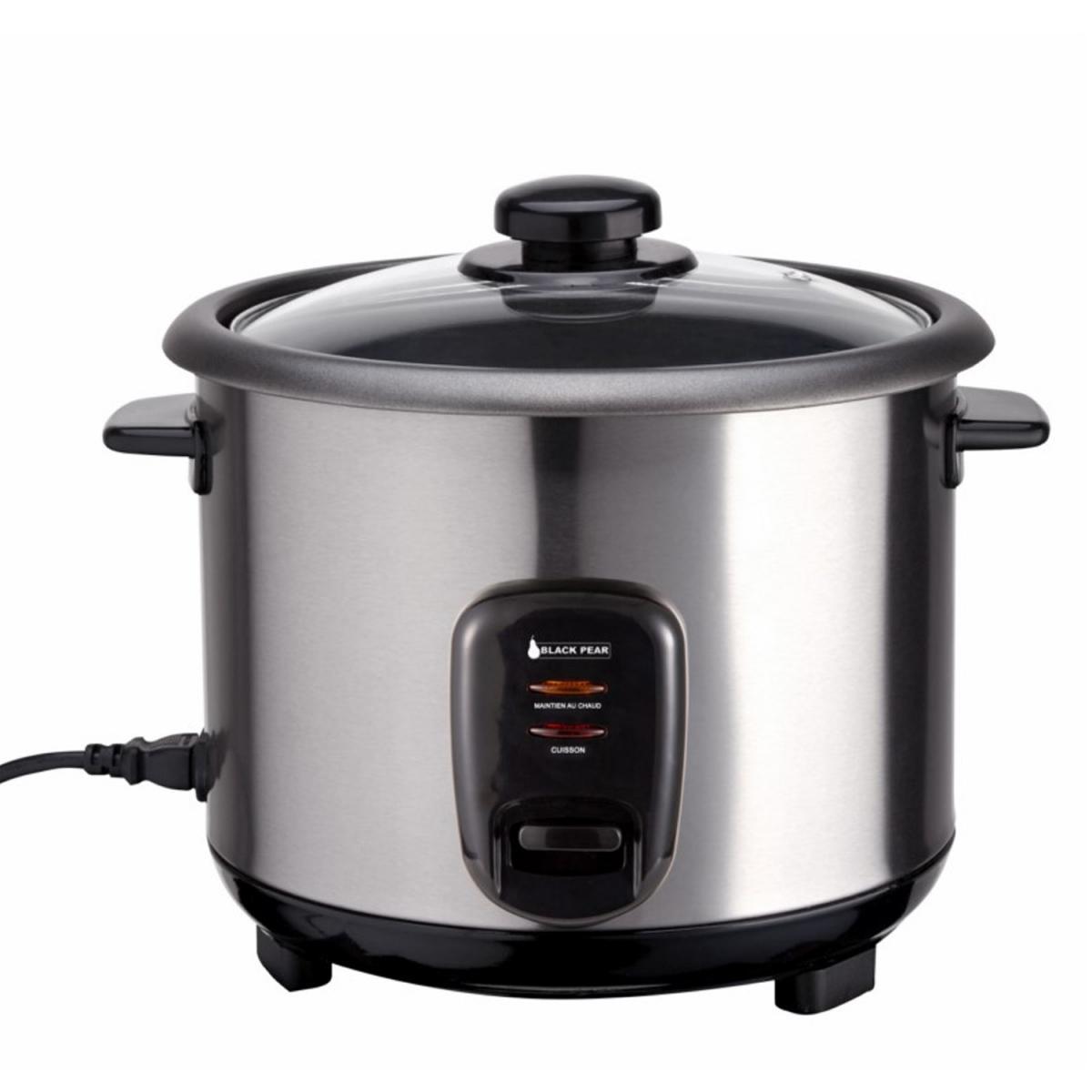Blackpear Cuiseur à riz BRK 110 Blackpear - Capacité 1L + Spatule + Verre doseur