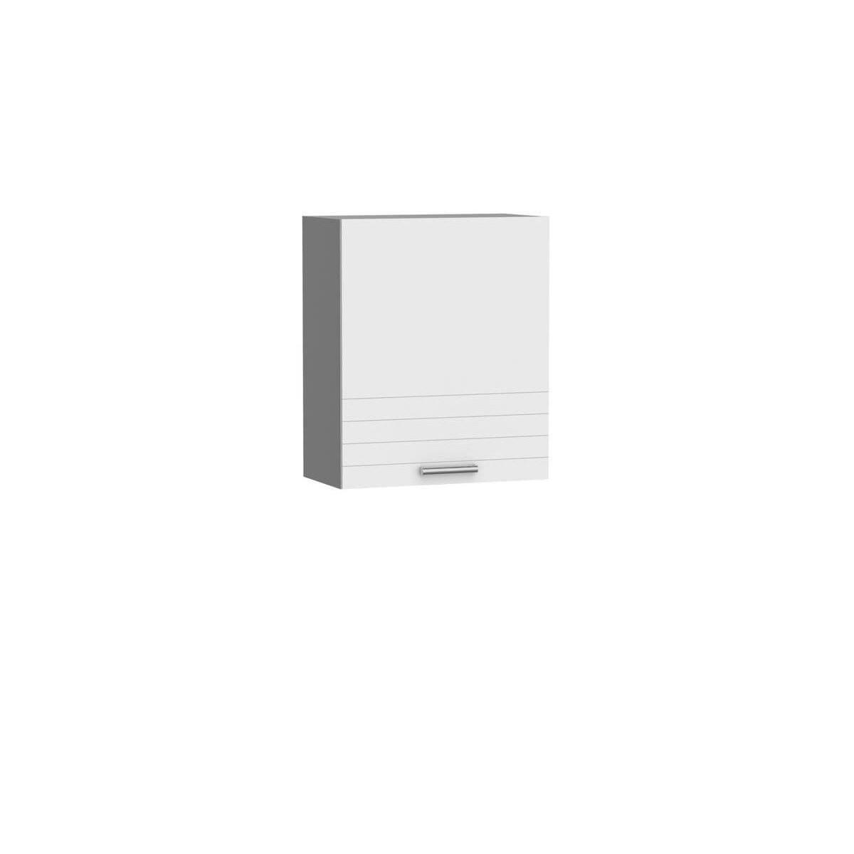 Bobochic BOBOCHIC Meuble haut 60 cm avec 1 porte ORTELIA Blanc