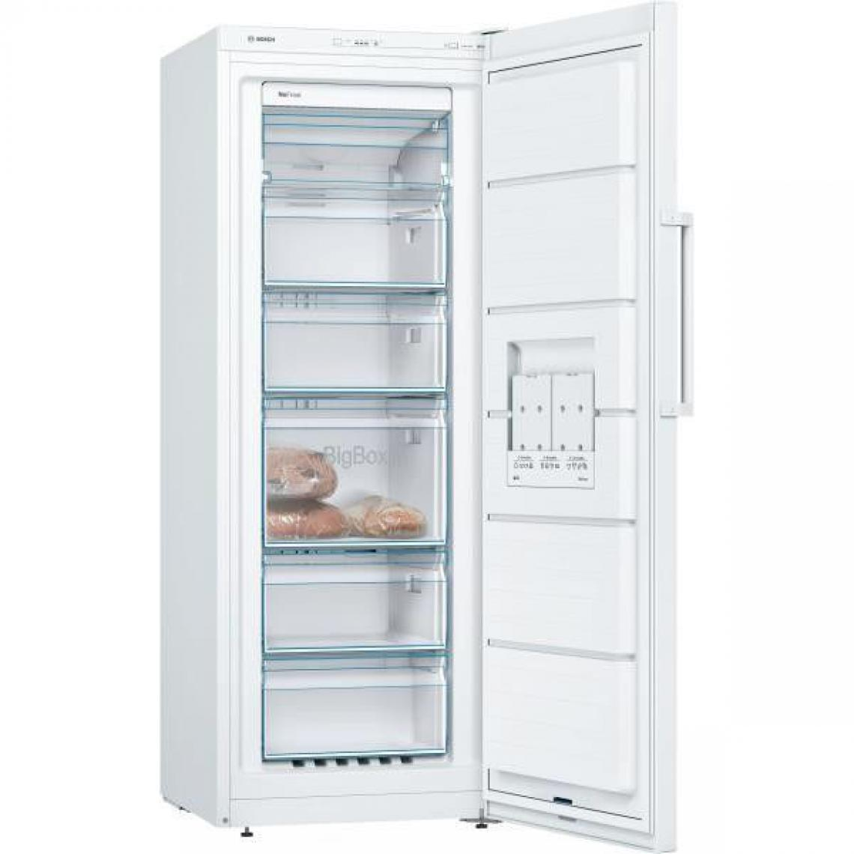 Bosch Congélateur armoire 200L Froid Ventilé BOSCH 60cm A++, GSN29UWEV