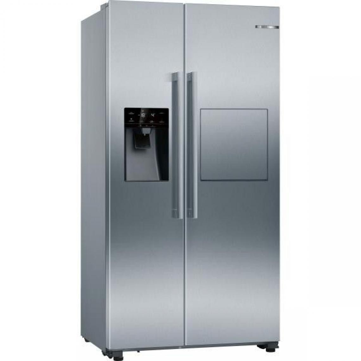 Bosch Réfrigérateur américain 531L Froid Ventilé BOSCH 90,8cm A++, KAG93AIEP