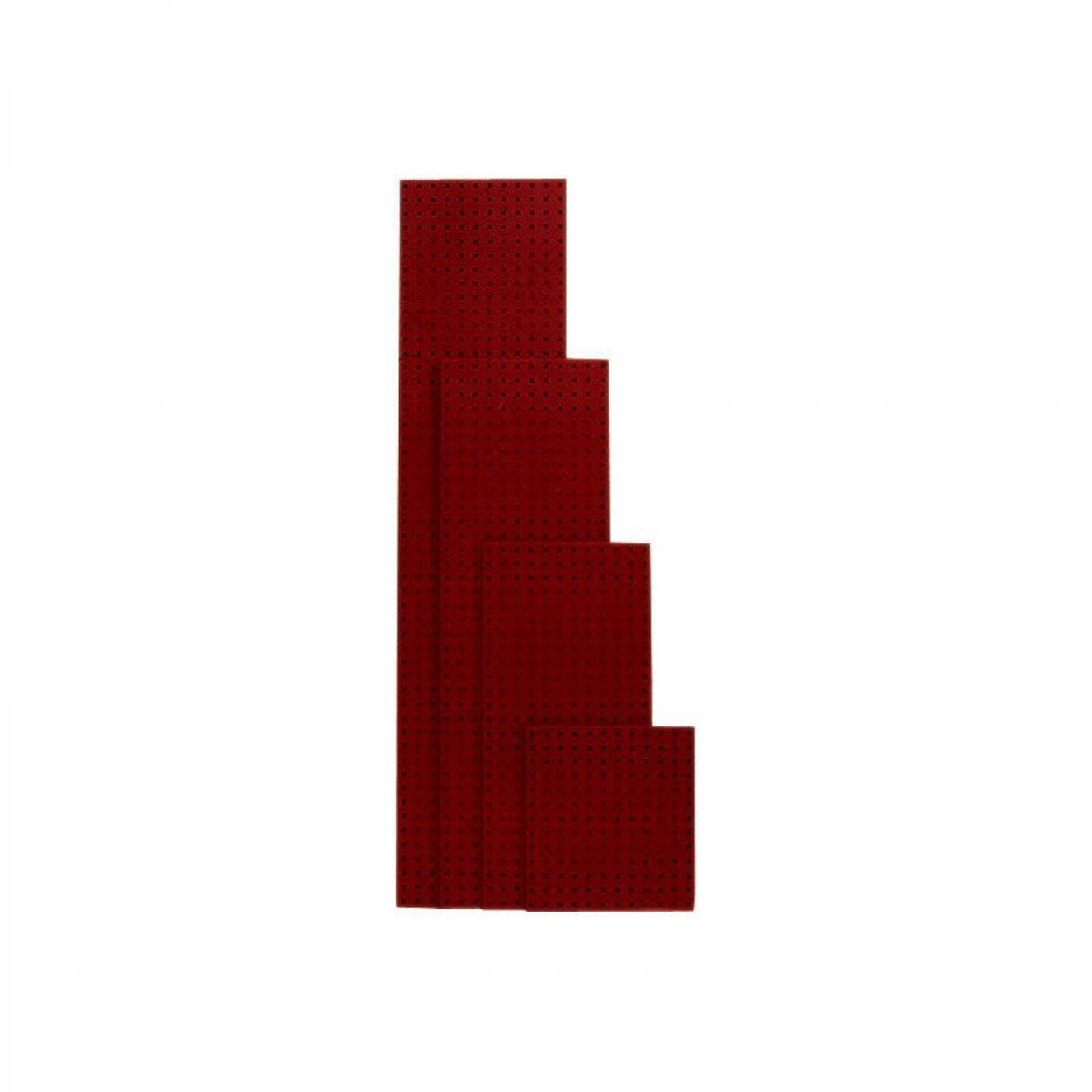 Bott Plaque perforée 991x457 mm rouge poupre RAL 3004