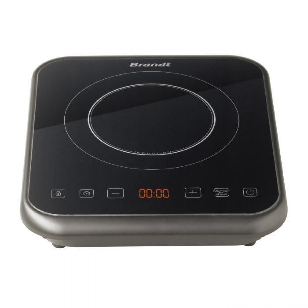 Brandt BRANDT TI1FSOFT Plaque de cuisson posable induction - Noir