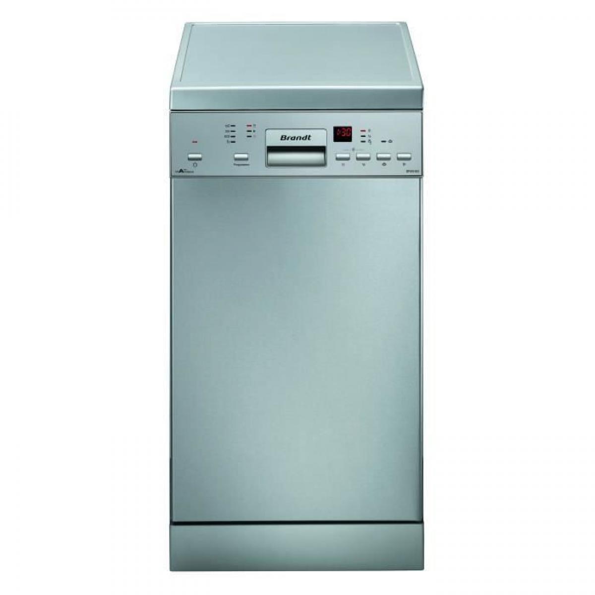 Brandt Lave-vaisselle pose libre BRANDT 10 Couverts 45cm A++, BRADFS1010X