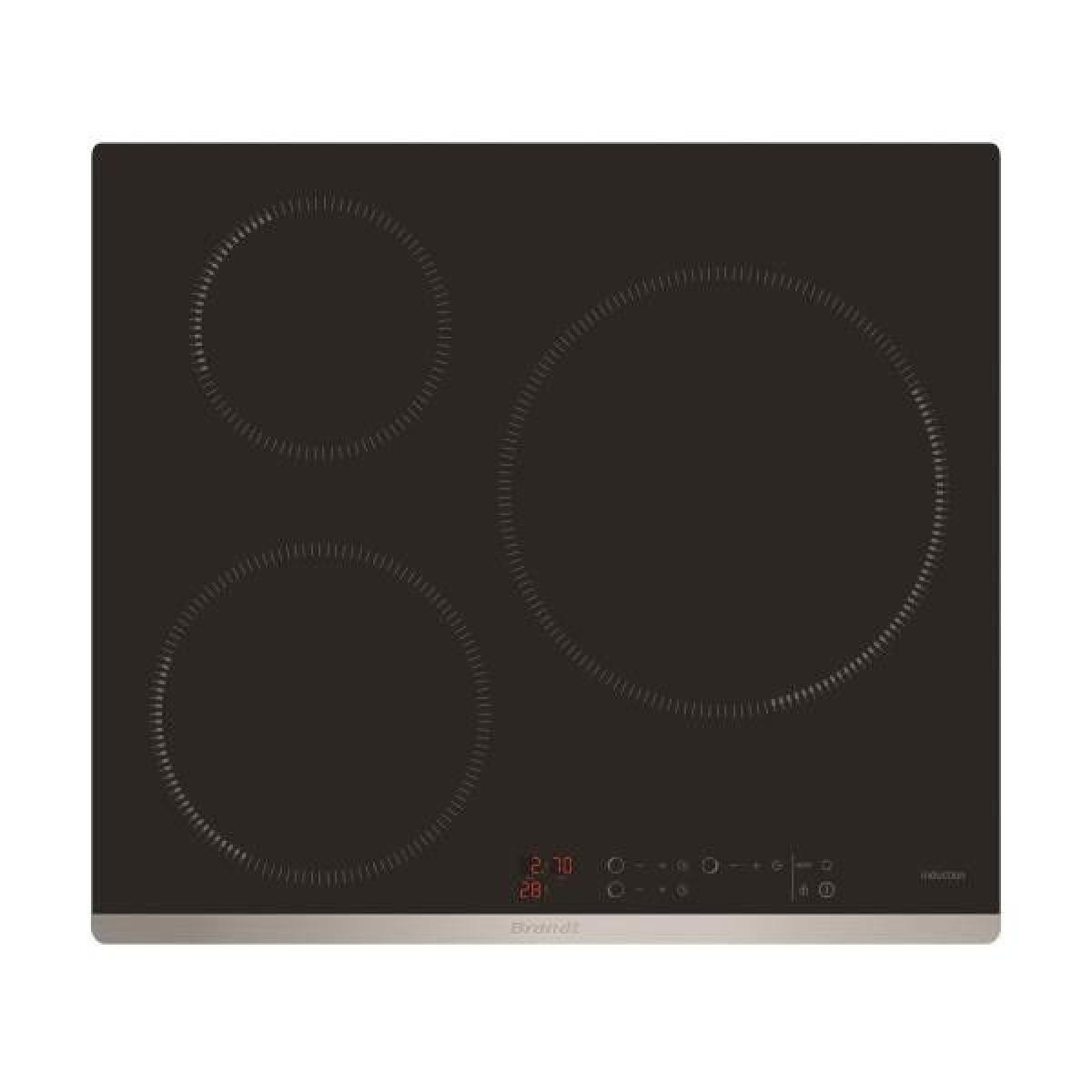 Brandt Plaque induction BRANDT 7200W 56cm, BPI6320X