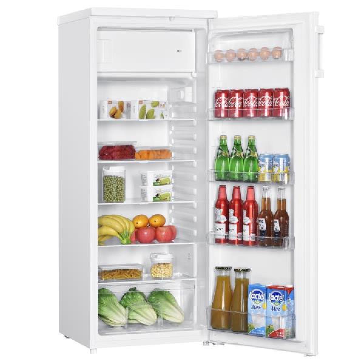 Brandt Réfrigérateur 1 porte 218L Froid Statique BRANDT 55cm F, BFS4354SW