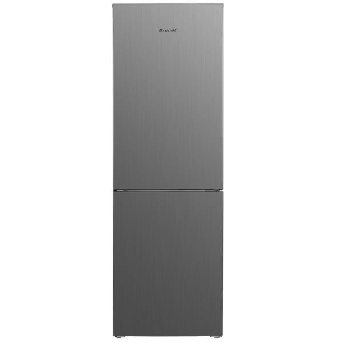 Brandt Réfrigérateur combiné 327L Froid Ventilé BRANDT 60cm A+, BFC8560NX