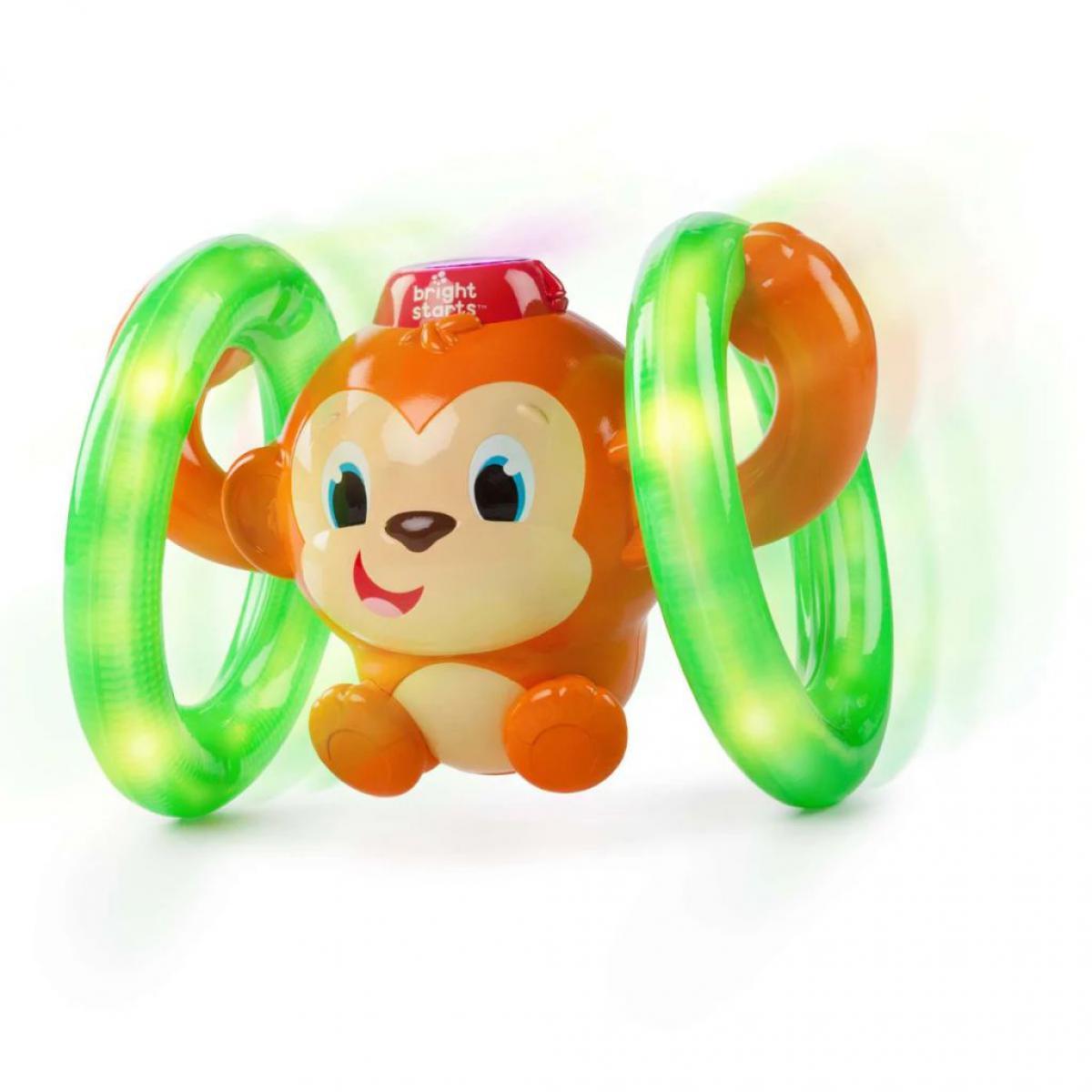 Bright Starts Bright Starts Jouet d'activité Roll & Glow Monkey K52181
