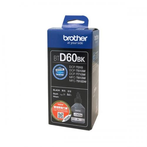Brother - BROTHER Ink Cart/Brother BTD60BK Black - Brother