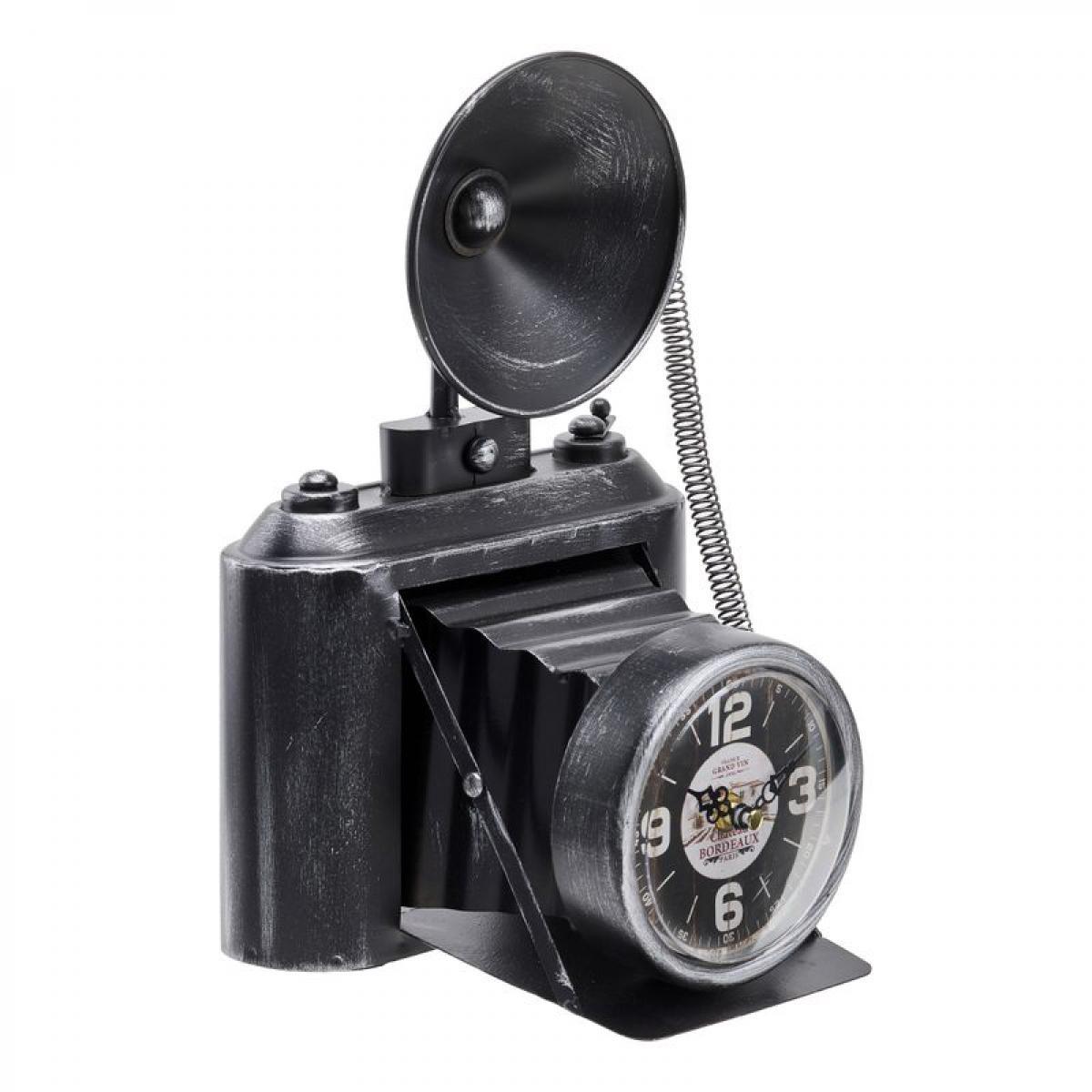 But Horloge H.32 cm APPAREIL PHOTO Noir