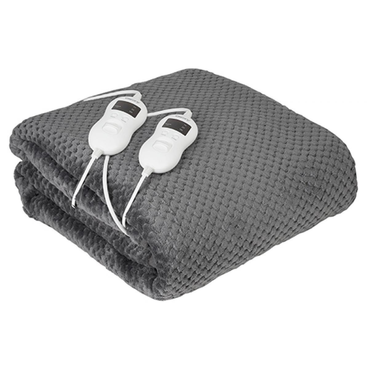Camry couverture de couchage électrique avec minuterie 150 X 160 cm 120W gris