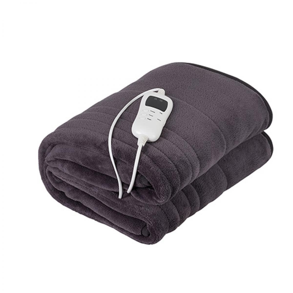 Camry couverture électrique avec minuterie 160 X 180 cm 120W gris
