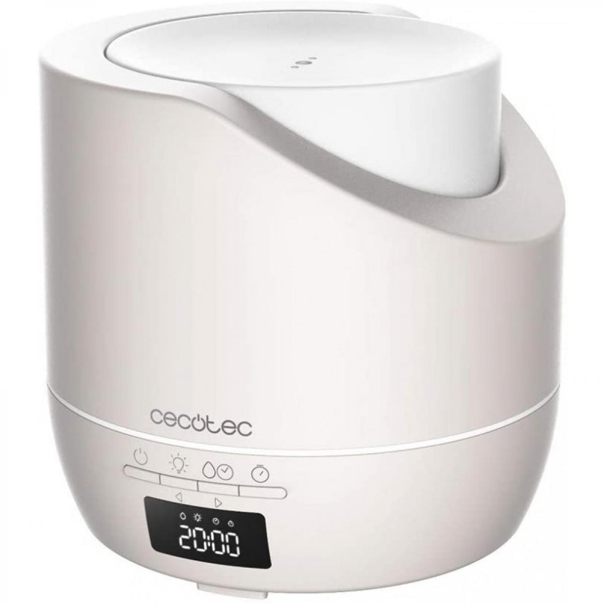 Cecotec Cecotec, Diffuseur d'arômes, PureAroma 500 Smart Sand, Capacité 500 ml, couverture 30 m², écran LED, 3 modes, minuterie,