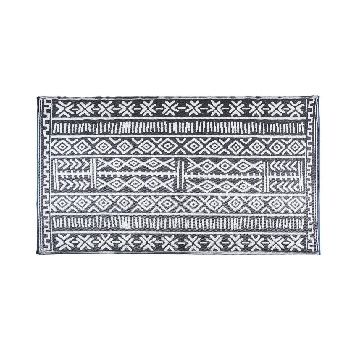 Cemonjardin Tapis extérieur ethnique en polypropylène 120 x 180 cm