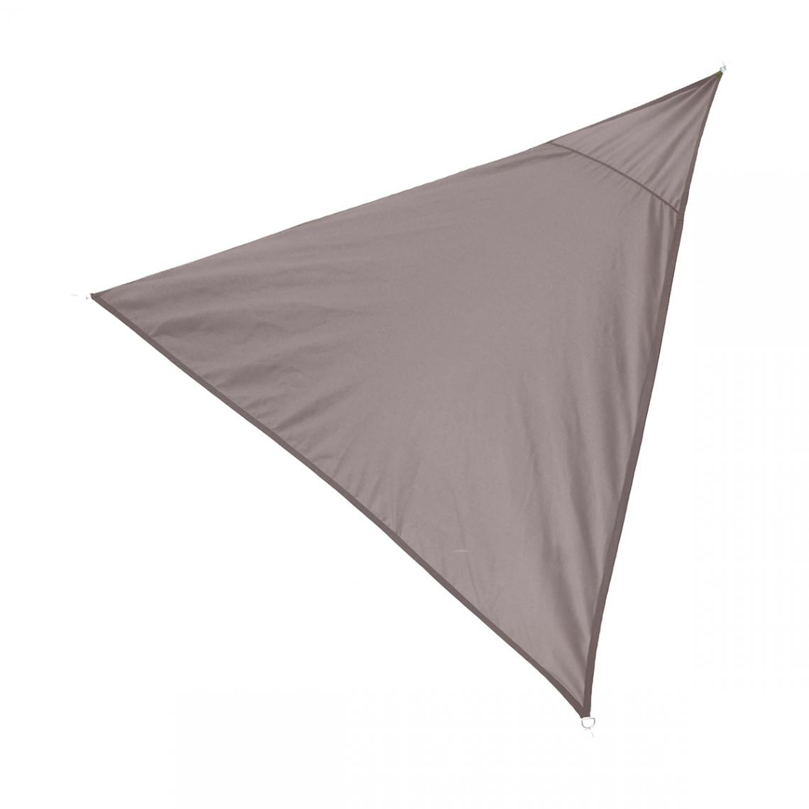 Cemonjardin Voile d'ombrage Taupe 350 x 350 x 340 cm